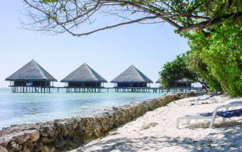Wasservillen auf Ranghali in den Malediven