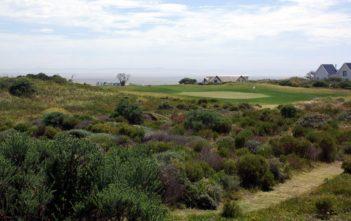 Green auf dem St. Francis Links Golfplatz