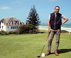 Walter Schärer in Golf-St-Francis
