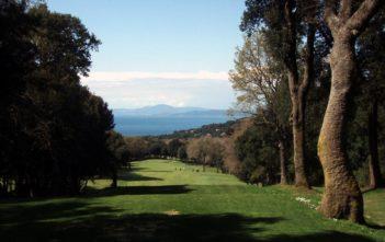 Fairway im Punta Ala Golfplatz