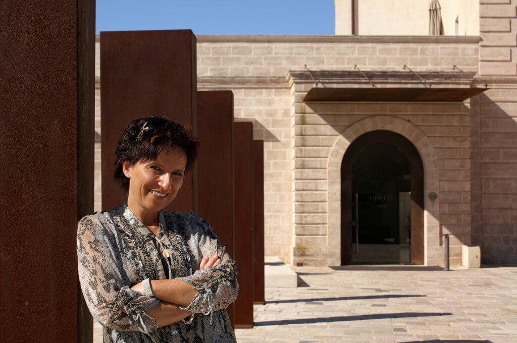 Katja Birrer im Relais Histo in Apulien