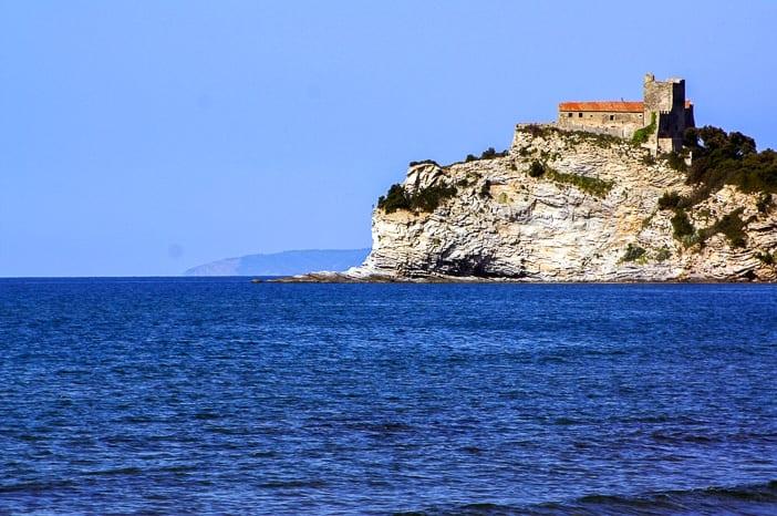 Küste vor Punta Ala