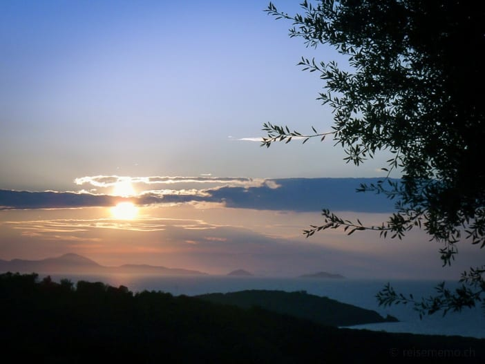 Sonnenuntergang Punta Ala