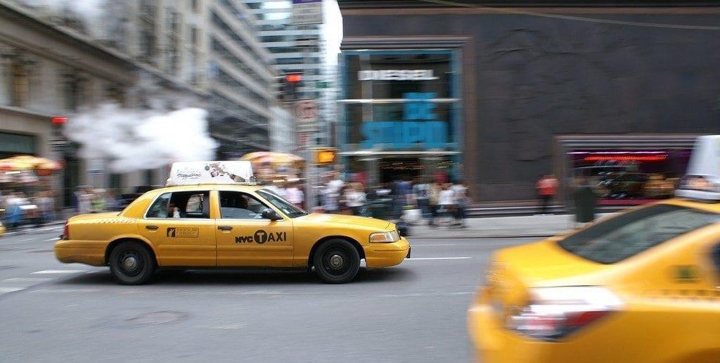 Taxi in Manhattan