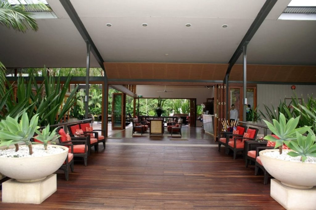 Lobby des Byron Bay Resort