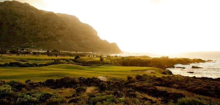 Sonnenuntergang beim Buenavista Golf auf Teneriffa