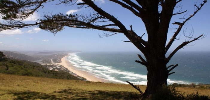 Küstenlinie der Garden Route in Südafrika