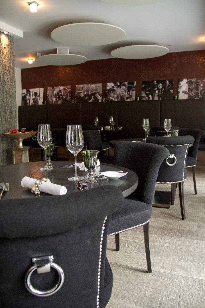 Restaurant des Hotels Matthiol in Zermatt, Schweiz