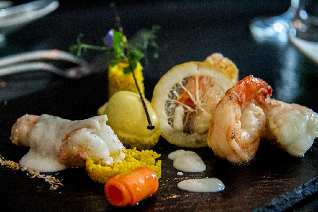 Scampo und Crevetten: Vorspeise im Matthiol Restaurant