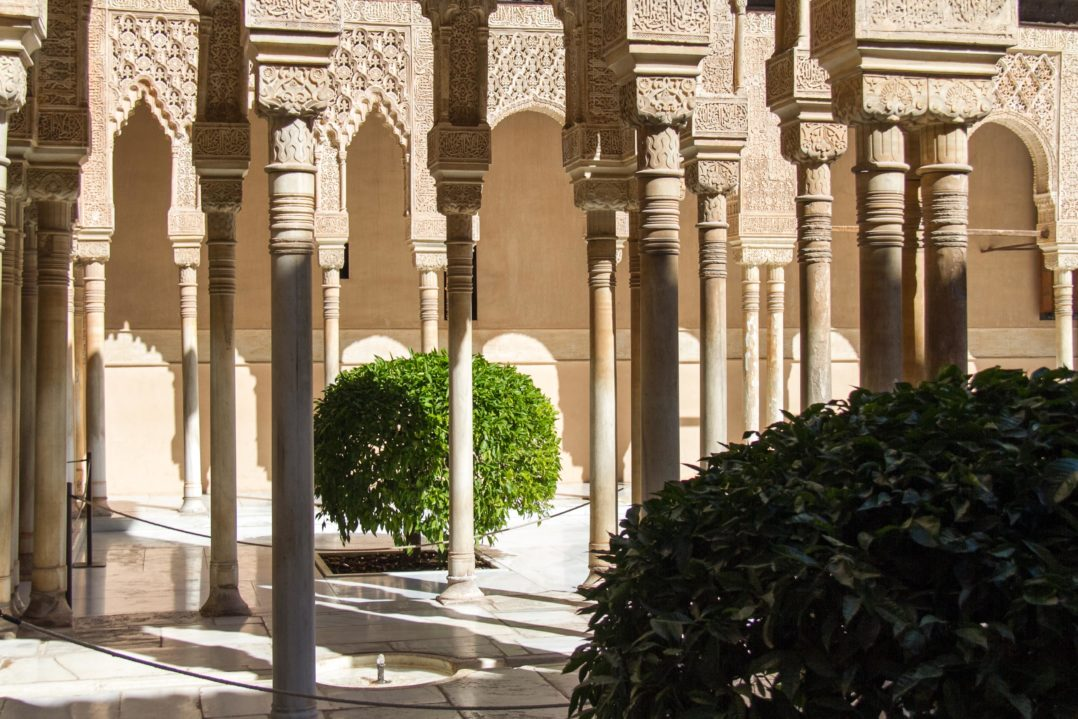 Granada-Alhambra Hof der Löwen