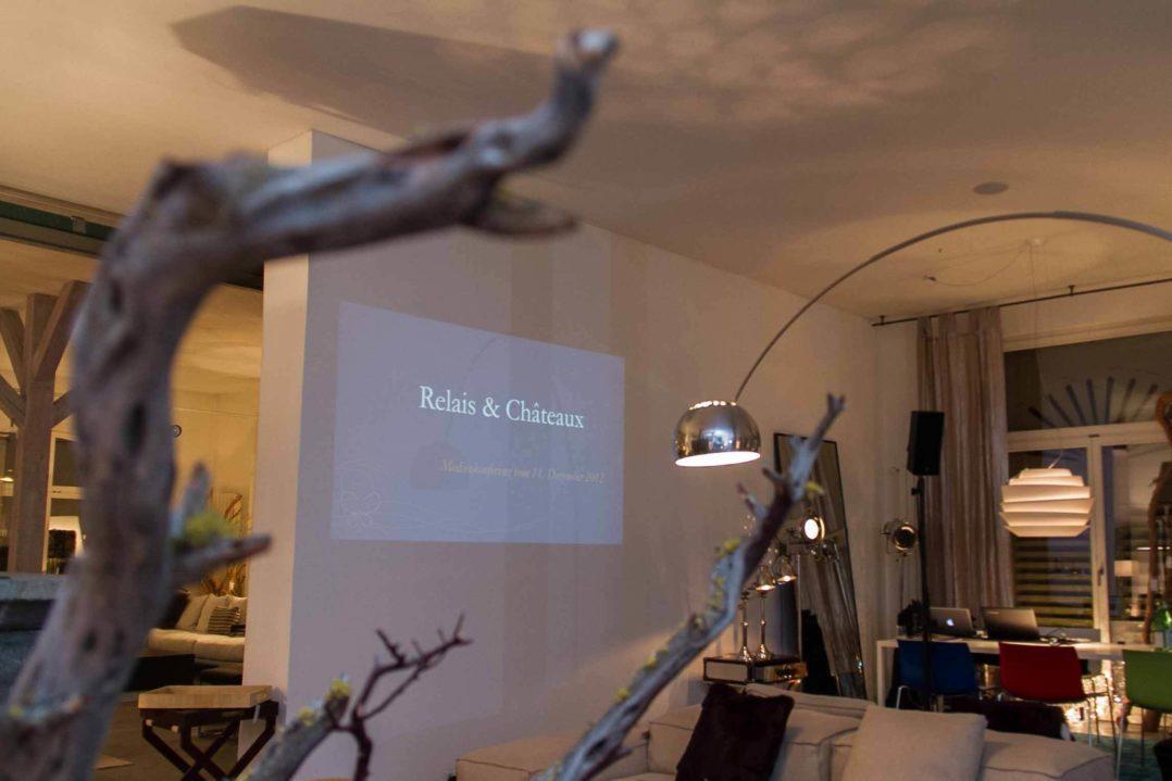 Praesentation von Relais & Chateaux im Colombo la Famiglia Moebelhaus im Huerlimann Areal