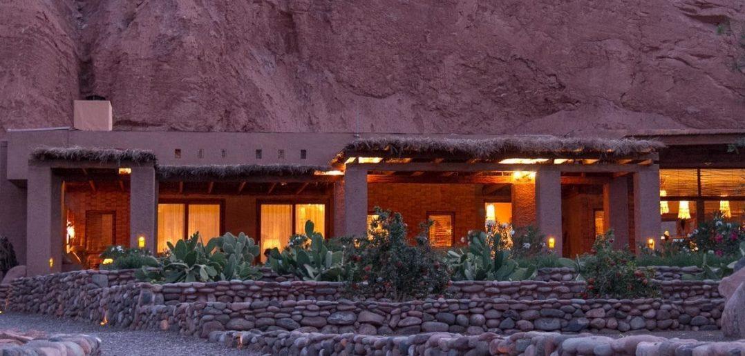 Garten des Alto Atacama Hotels in San Pedro de Atacama