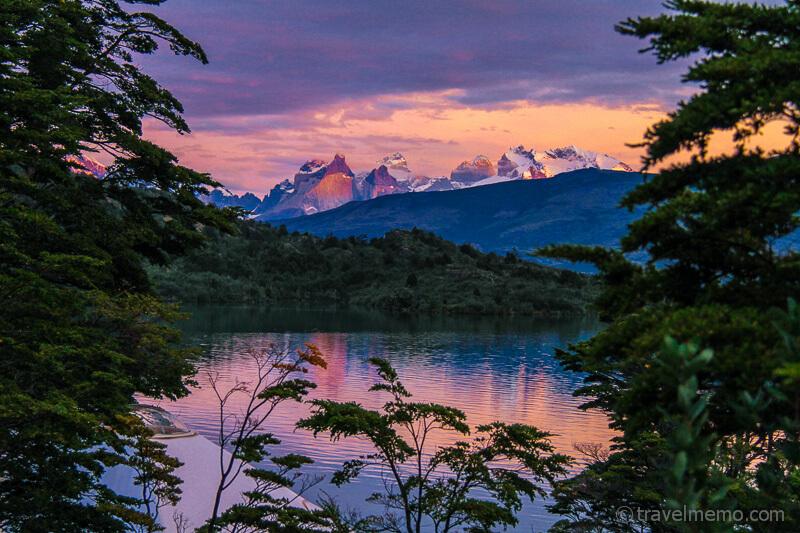 Cuernos del Paine reflecting in Lake Toro
