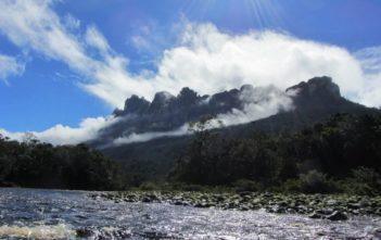 Canaima Fluss in Venezuela