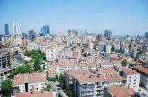 Aussicht vom Marmara Sisli Hotel auf Istanbul