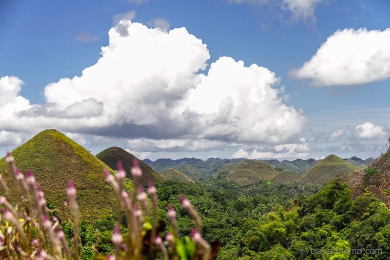 Chocolate Hills von Bohol