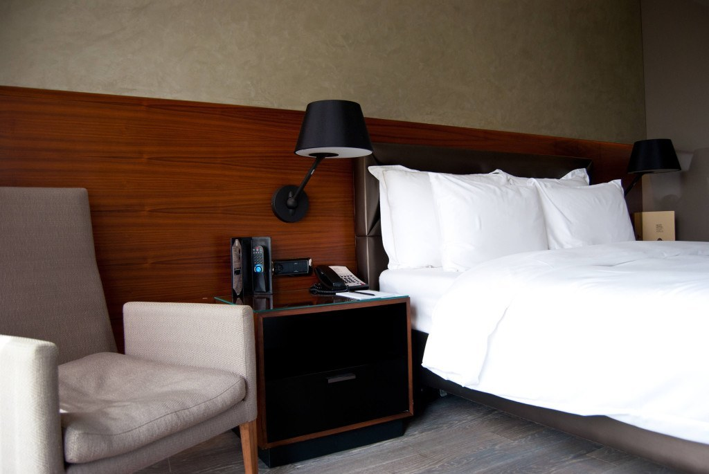 Farblich dezent und modern eingerichtet im Gezi Hotel Bosphorus