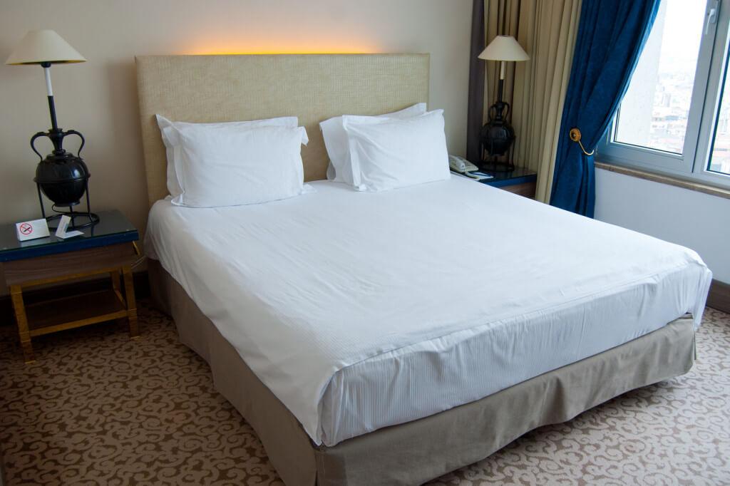 Kingsize Bett in der Executive Suite