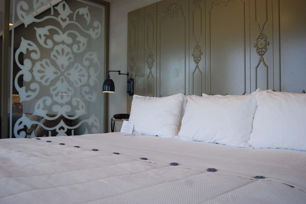 Kingsize Bett in der Junior Suite