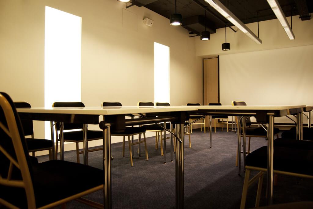 Eines von fünf Konferenzzimmern