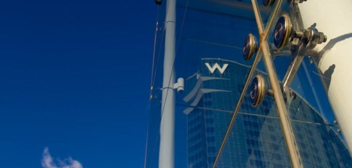 Logo des W Hotels in Barcelona