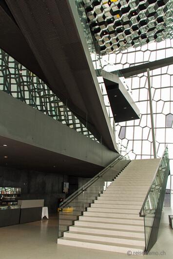 Stairs in the atrium