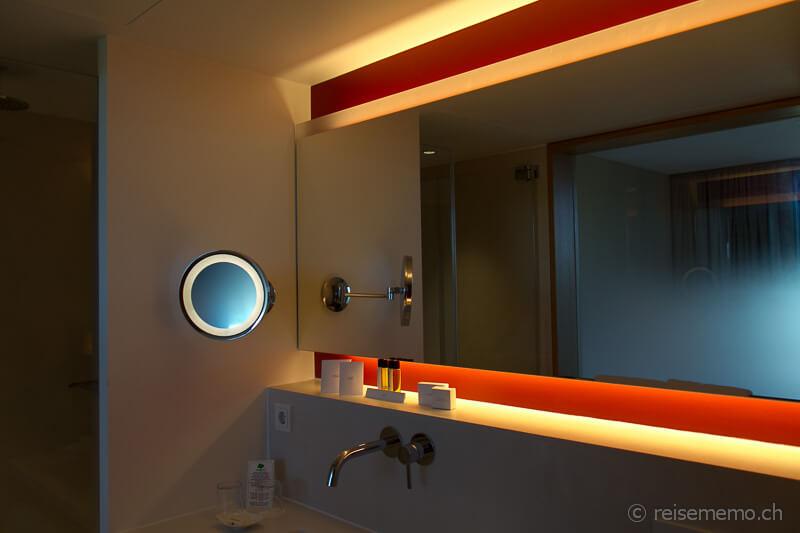 Badezimmer im Bora HotSpa Resort