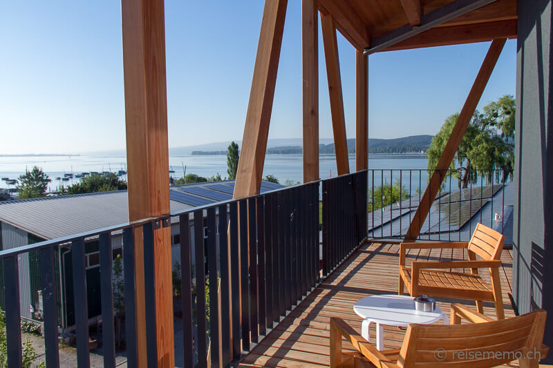 Zimmer-Balkon im Bora HotSpa Resort
