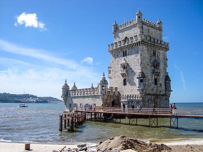 Tower of Belem in Lisbon