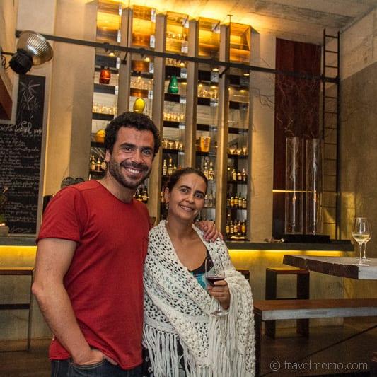 Hotelbesitzer und Gastgeber Gonçalo Alves und Marta Fonseca