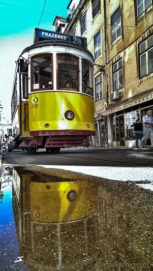 Tram No. 28 in Lisbon