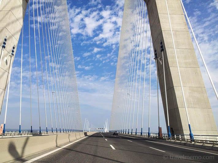 Vasco da Gama suspension bridge