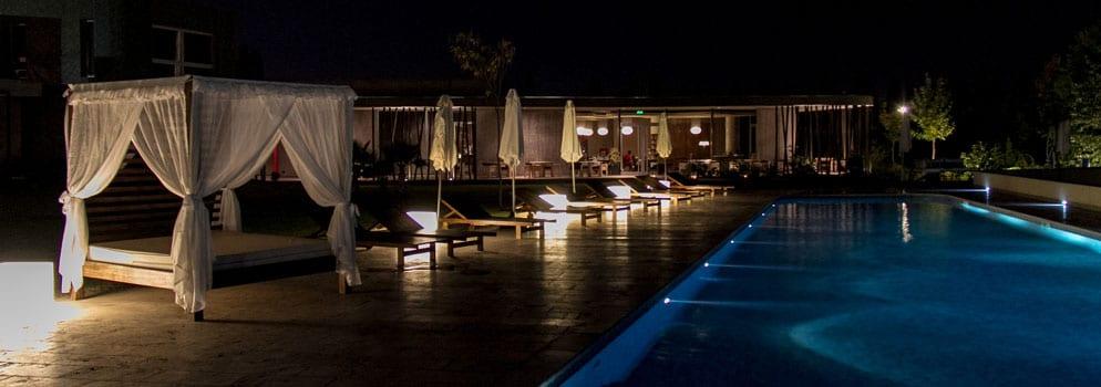 Hotelpool des preisgekrönten Entre Cielos Boutiquehotels