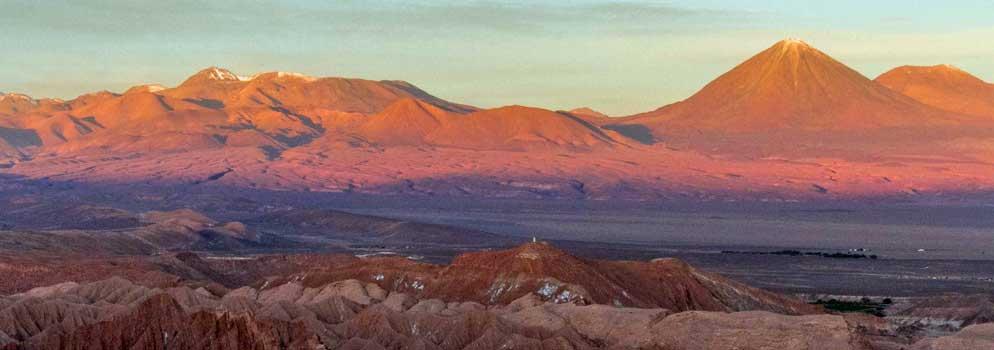 Vulkan Licancabur in der Atacama Wüste