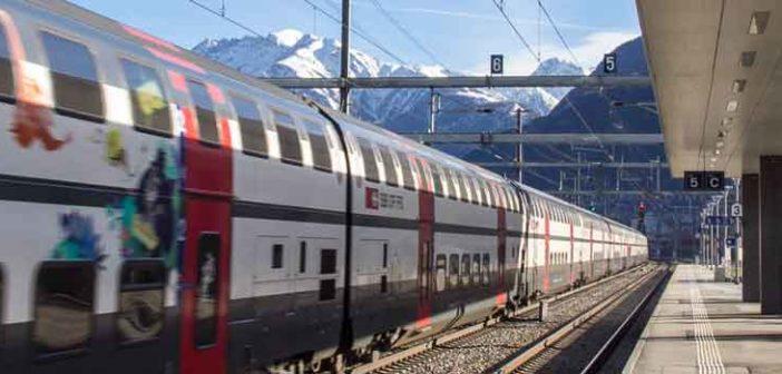 SBB-Railaway-Zug-Visp