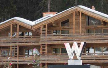 Logo des W Hotels Verbier
