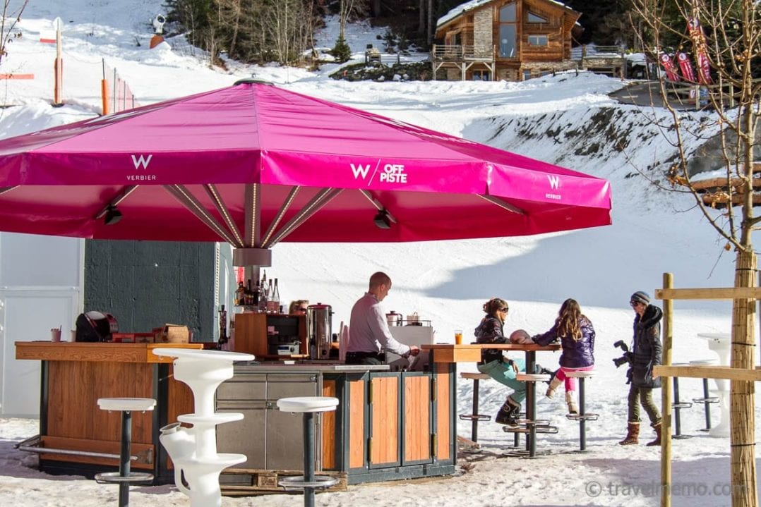 W Off Piste Bar in Verbier