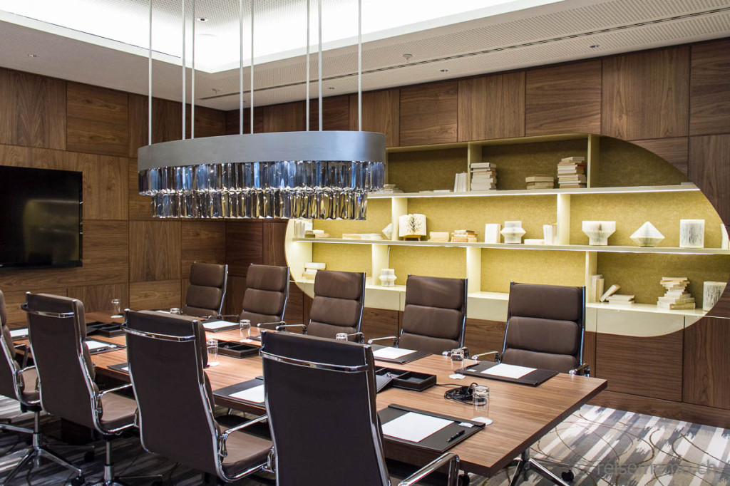 InterContinental Davos boardroom