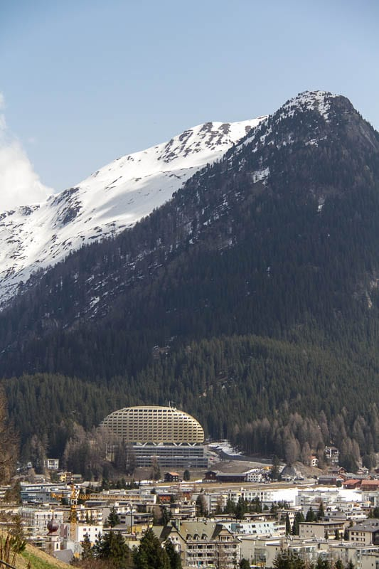 Davos Dorf and the InterContinental hotel