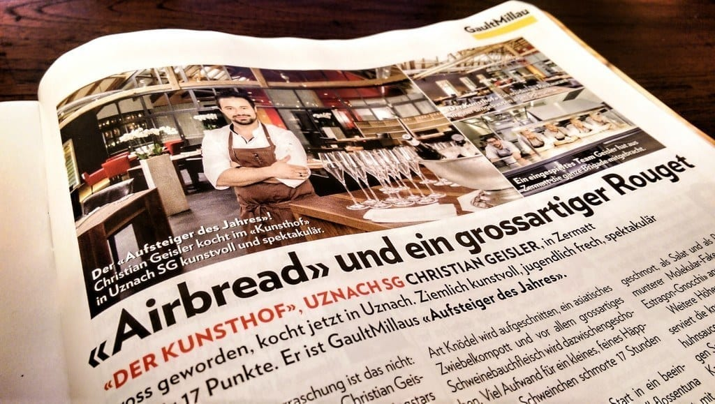 Schweizer Illustrierte druckt unsere Fotos vom Kunsthof ab