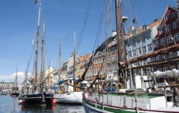 Schiffe in Nyhavn