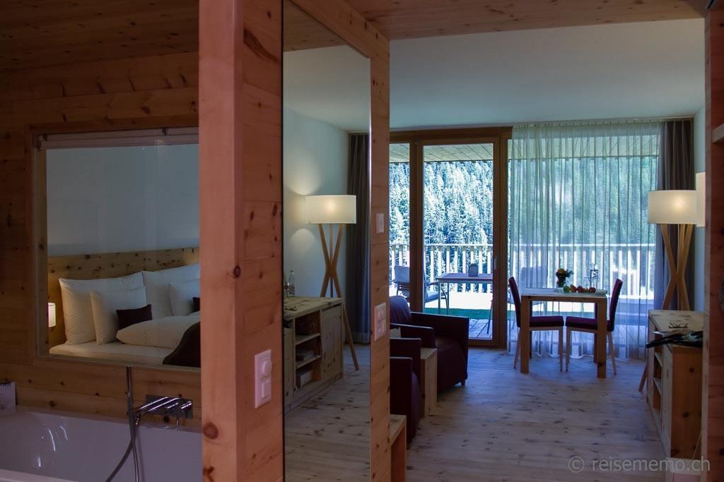 Terrassen-Suite In Lain Hotel Cadonau