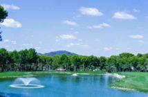 Golf Son Servera See Brunnen