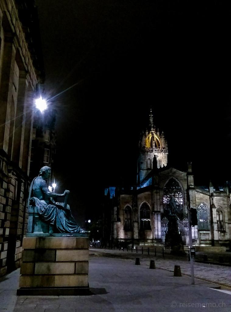 St Giles' Kathedrale, wo John Knox zu predigen pflegte