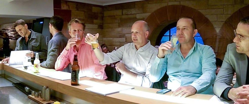 Fachmännische Bier- und Whisky-Degustation in Edinburg