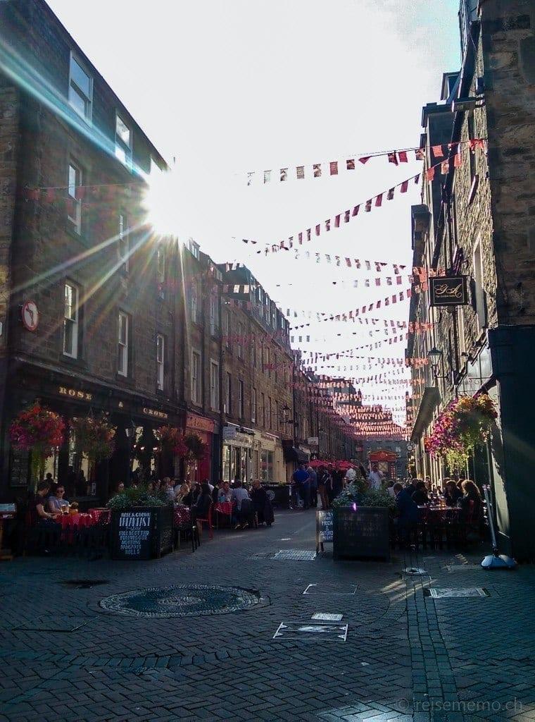 Rose Street nach den Plänen von James Clark