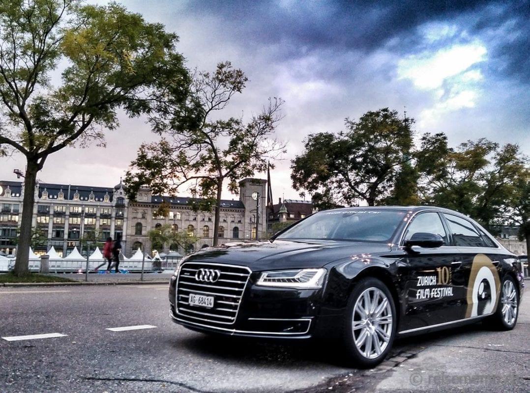 Audi als Sponsor der Limousinen am ZFF
