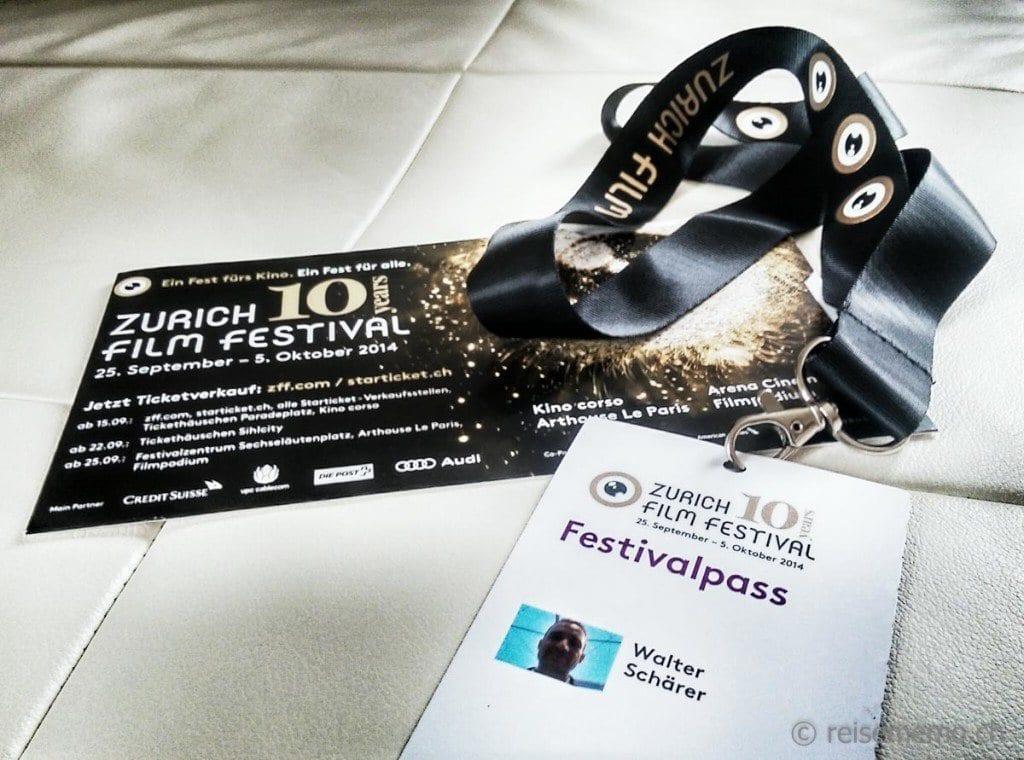 Festivalpass von Walter Schärer