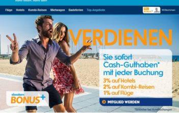 ebookers BONUS+ Programm