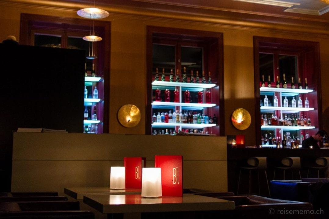 Gemütliche B21 Bar im Hotel Zürichberg